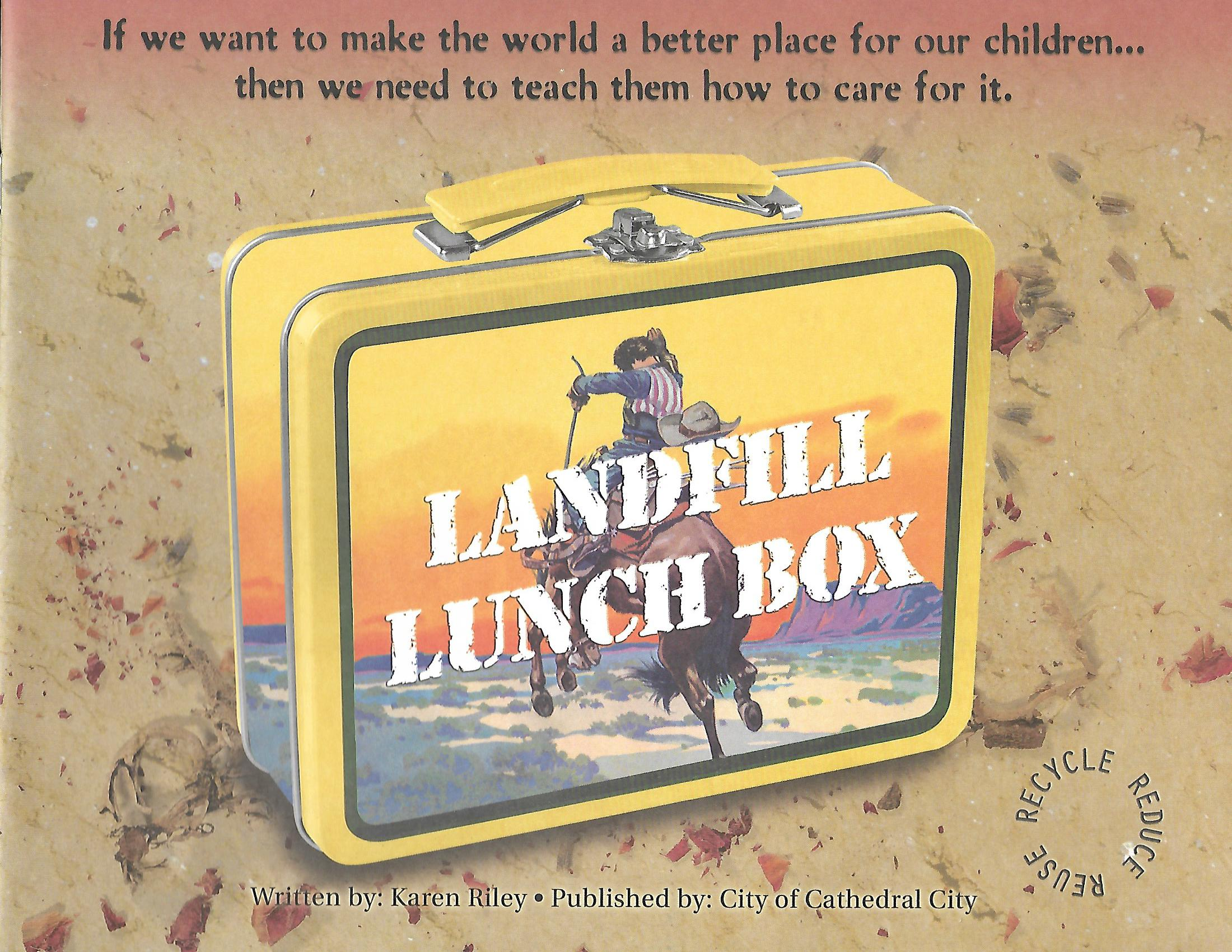 Book cover Landfill Lunchbox