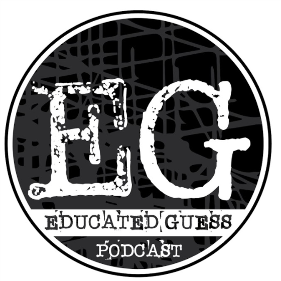 Educated Guess podcast logo Cesar Fernandez