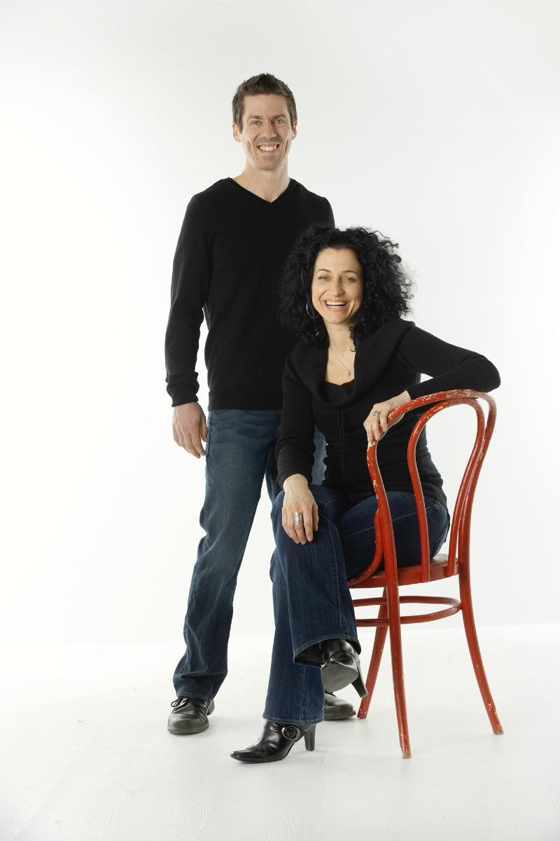 Jennifer Powers and Mark Tucker