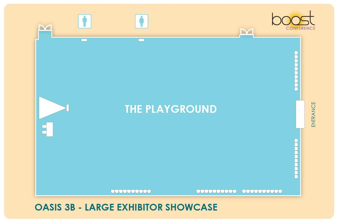Large Exhibitor Showcase Oasis 3B