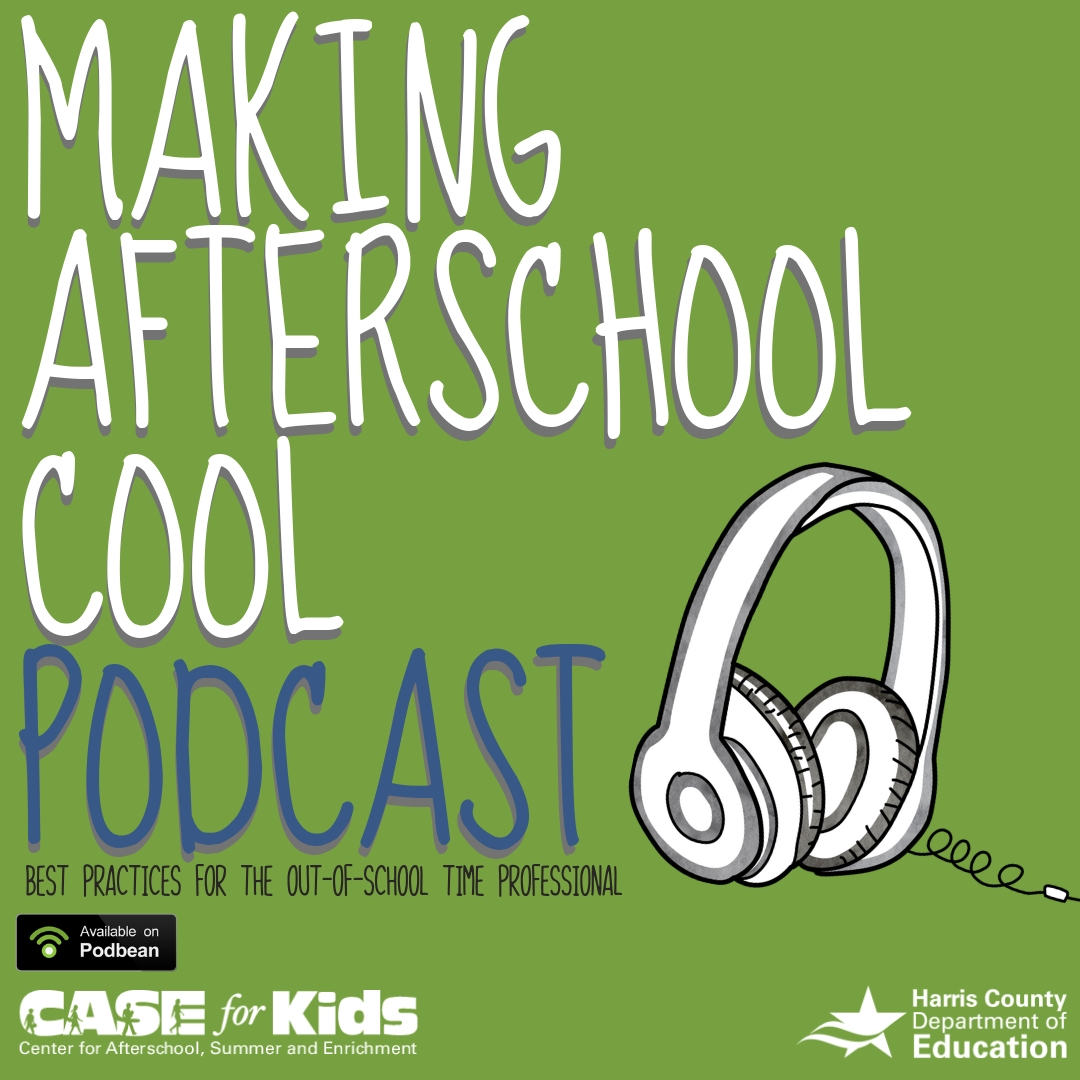 Making After School Cool Podcast Logo Michael Wilson