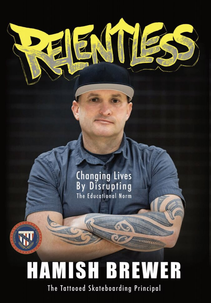 Relentless book cover Hamish Brewer
