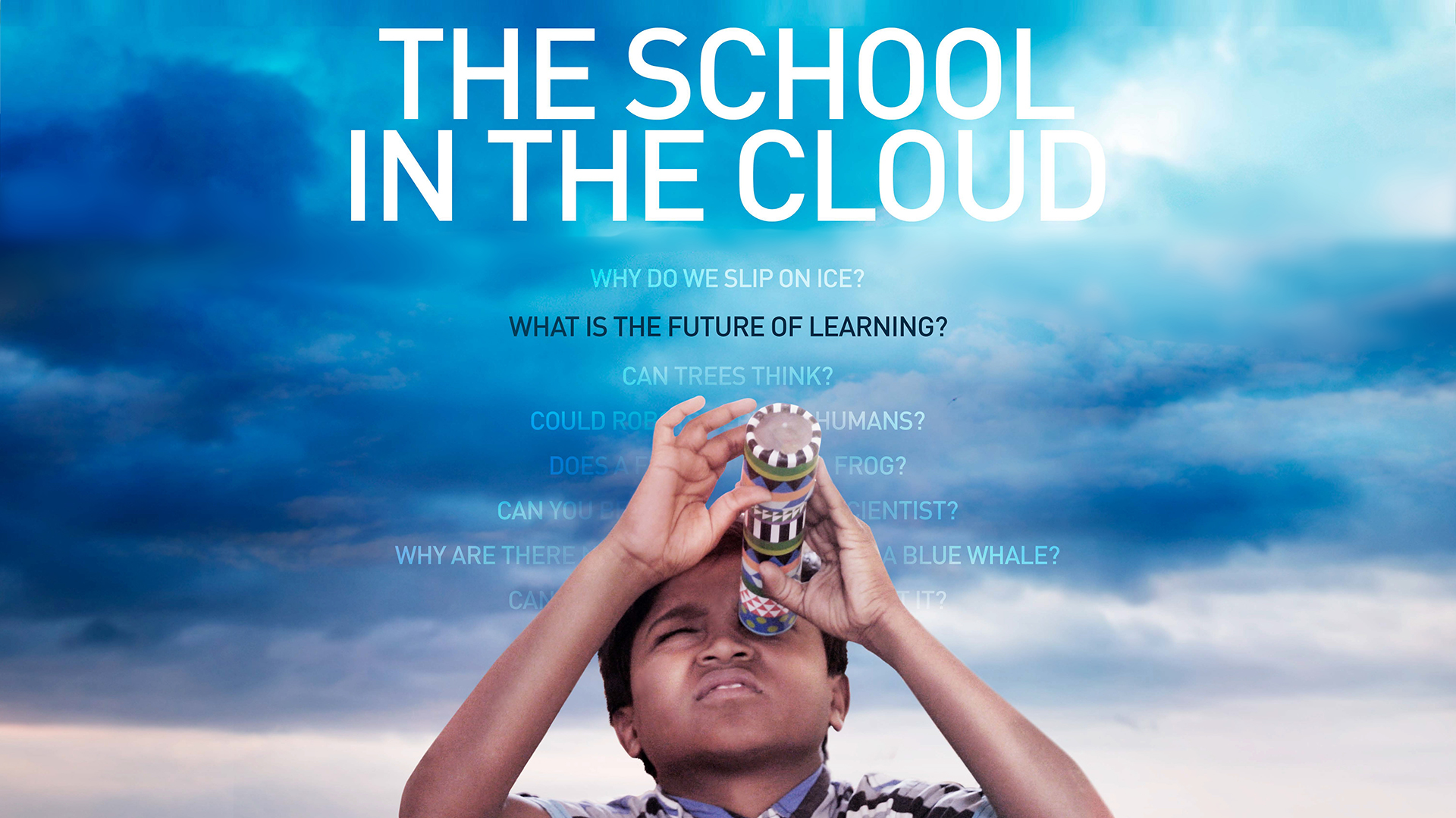 The School In The Cloud film poster