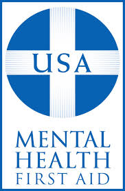 USA Mental Health First Aid logo