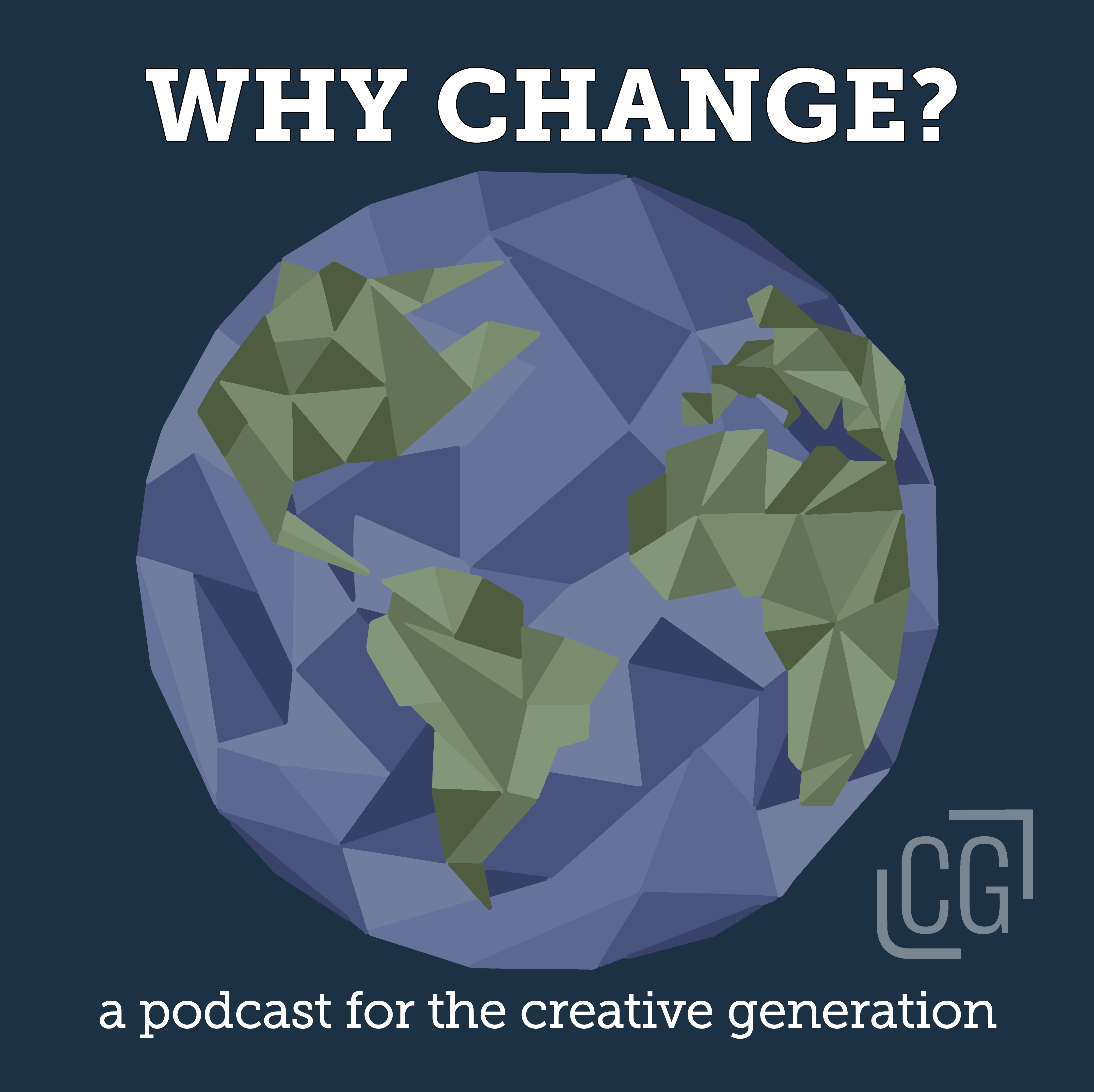 Why Change Podcast logo
