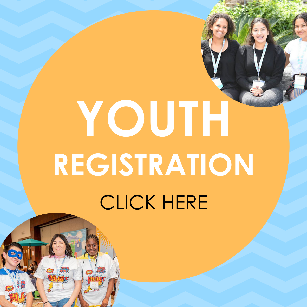 Youth registration button