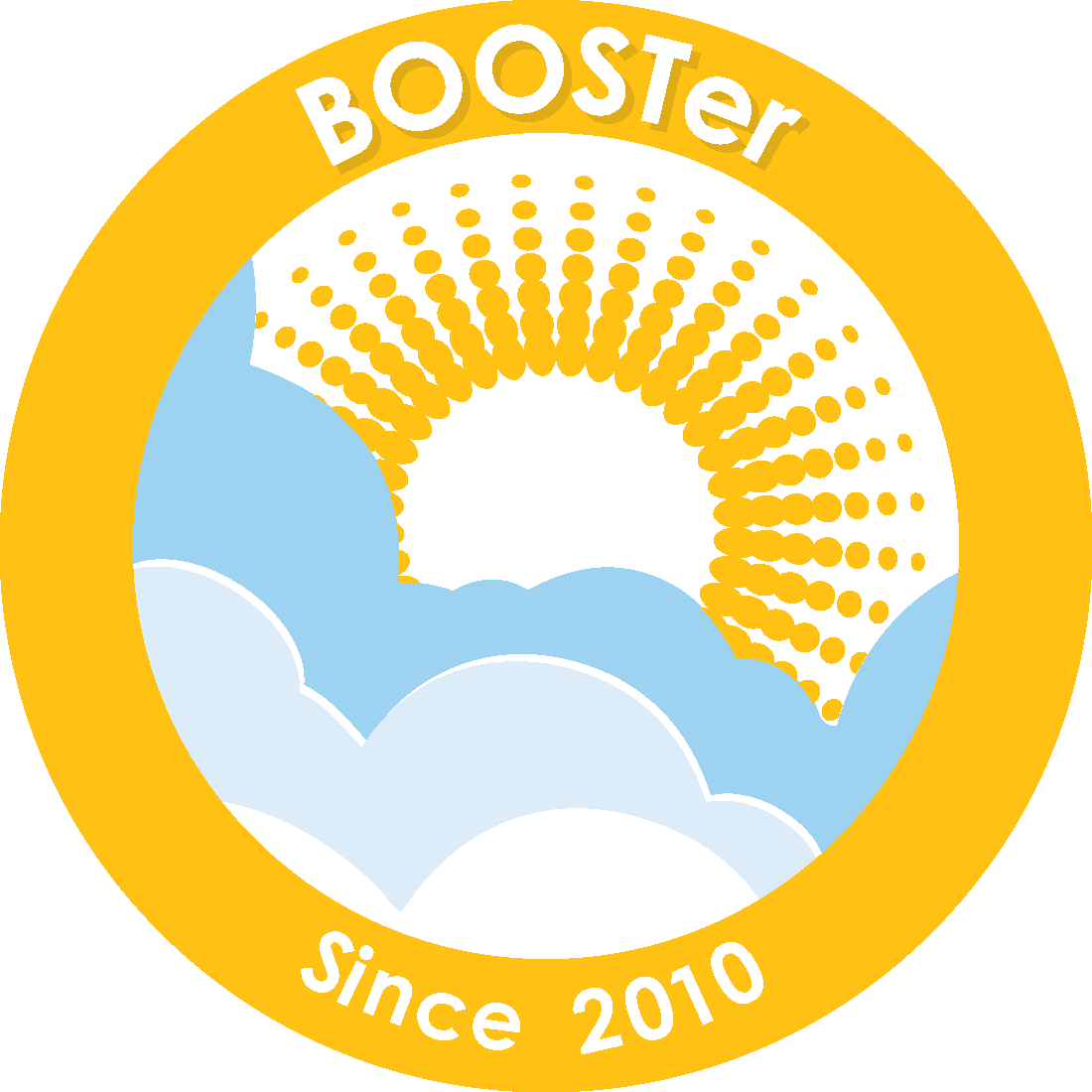 2010 BOOSTer Since badge