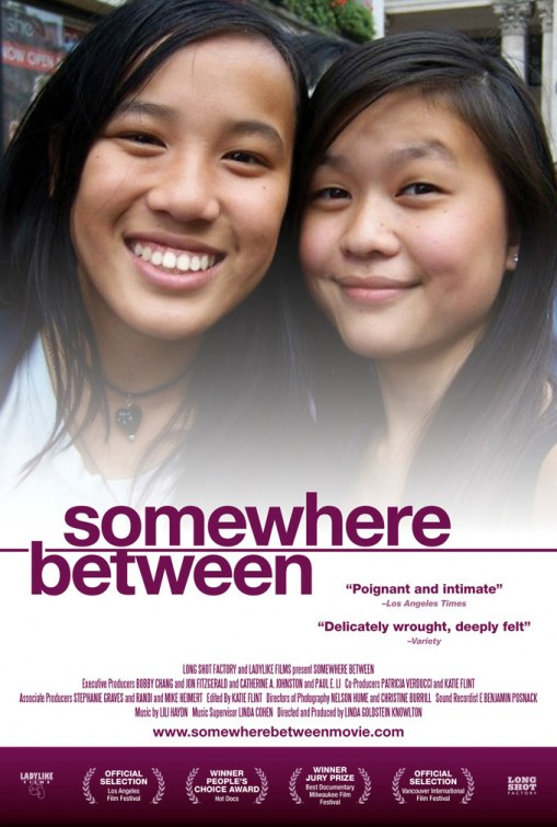 somewhere between poster